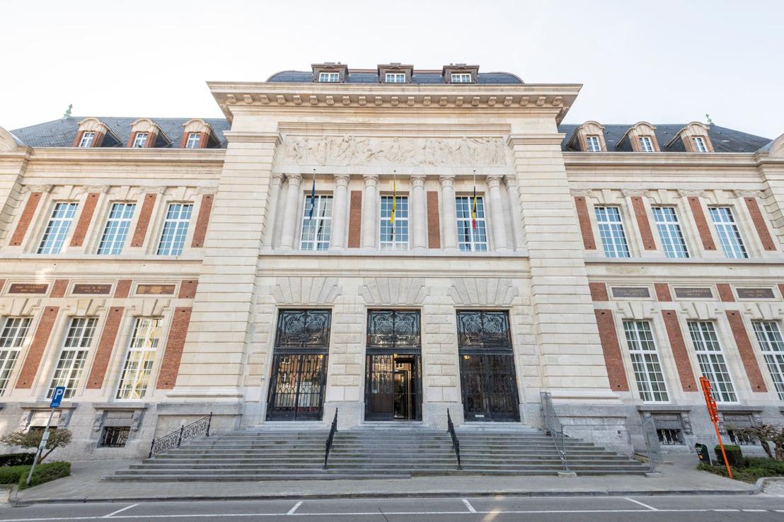Het gerechtsgebouw van Leuven is gerenoveerd en krijgt haar eigen expo