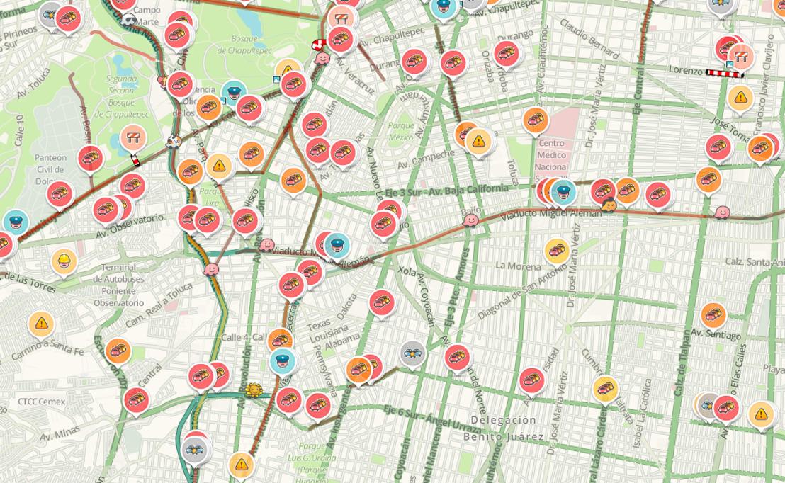 Menos tráfico y accidentes en el Hoy no circula ampliado, según Waze