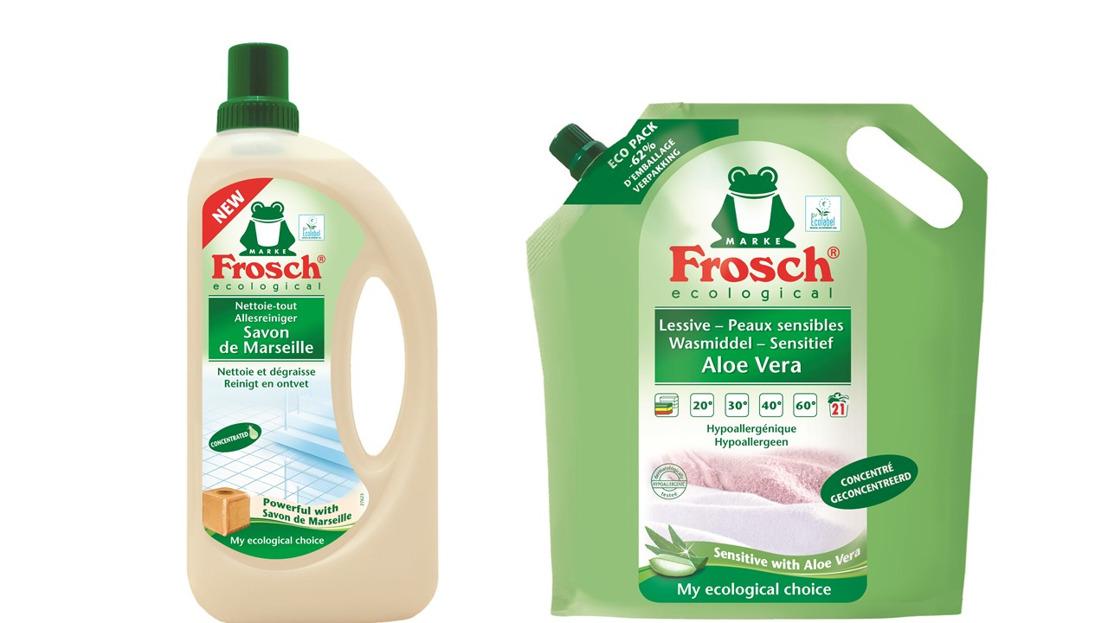 Persbericht: Frosch blijft innoveren met hergebruik van plastic en lanceert een nieuwe fles uit 100% gerecycleerd HDPE
