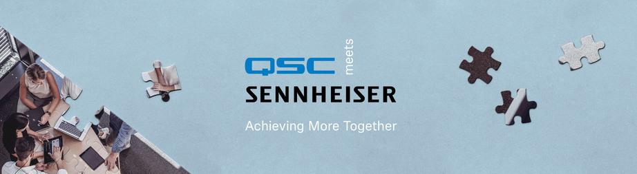 QSC og Sennheiser: Den neste generasjonen av videokonferanser