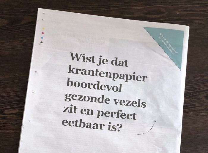 Preview: Two out of five submissions of DDB Brussels for De Standaard Solidariteitsprijs are victorious.