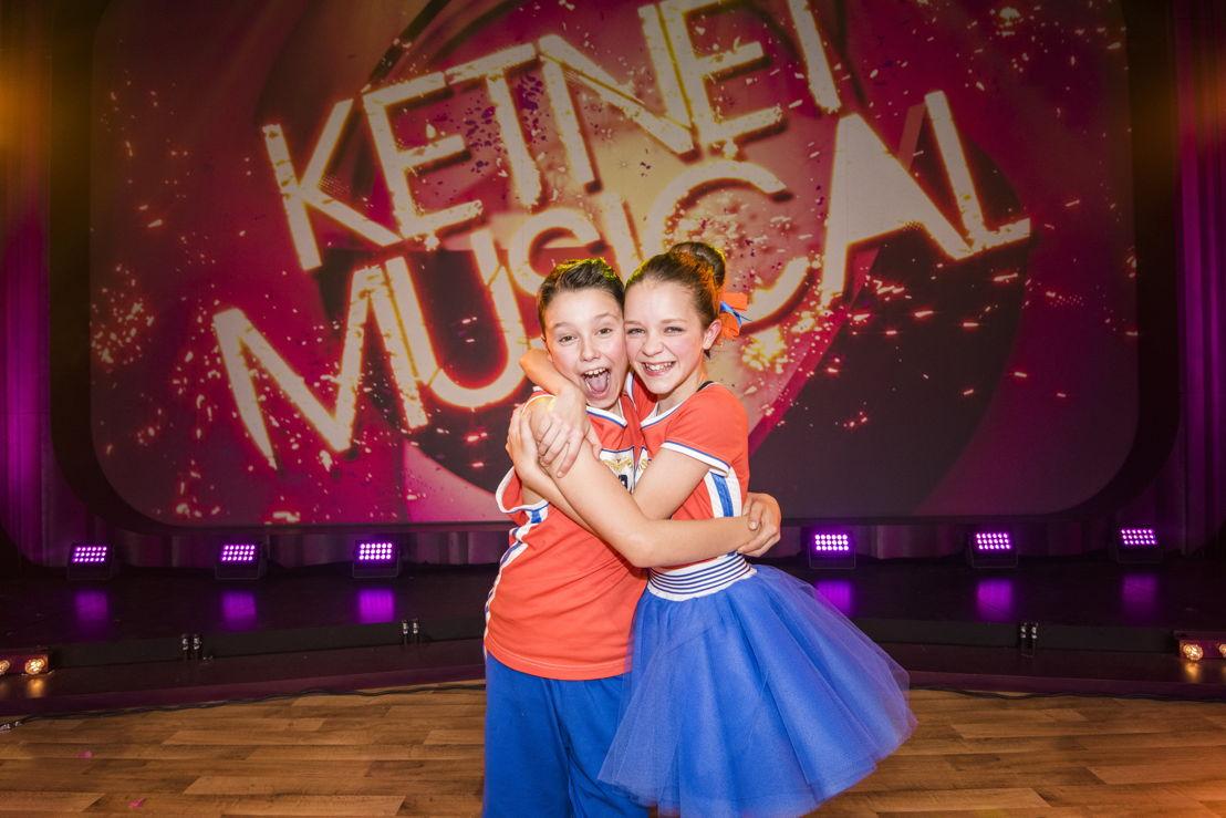 Ketnet Musical - Nono Wauters en Marthe Willems - (c)VRT/Alex Vanhee
