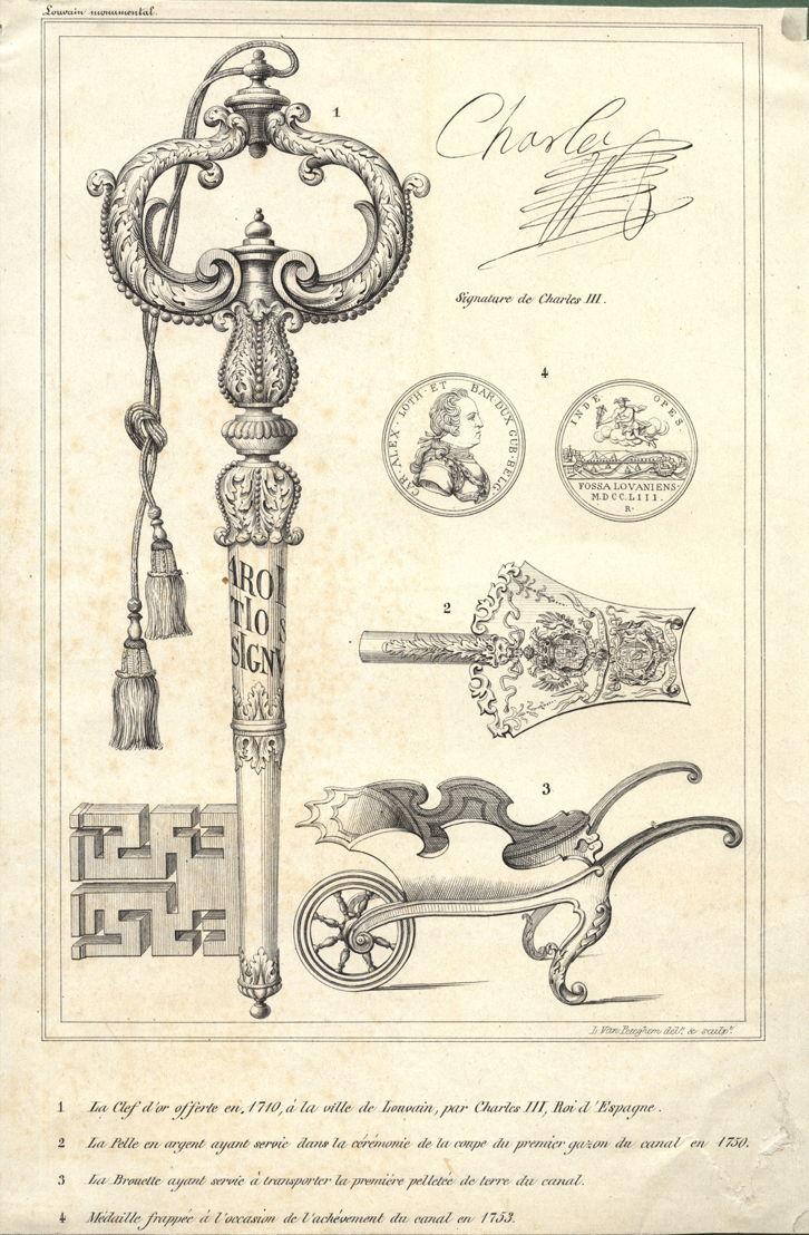 Gravure voor Van Even 1860, L.J. Van Peteghem, ca 1860, M - Museum Leuven
