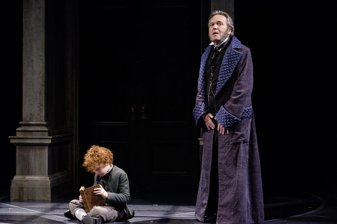 Kyle Atlas Stahl and Tom McBeath in A Christmas Carol / Photos by Don Craig