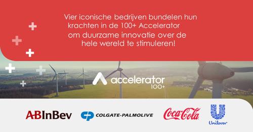 AB InBev, The Coca-Cola Company, Colgate-Palmolive en Unilever zoeken starters die mee willen denken over duurzame oplossingen