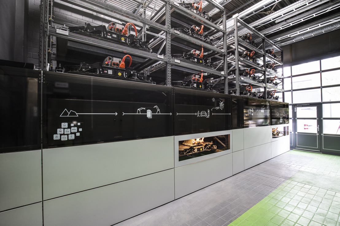 Audi opent batterijopslagunit op Berlijnse EUREF-Campus