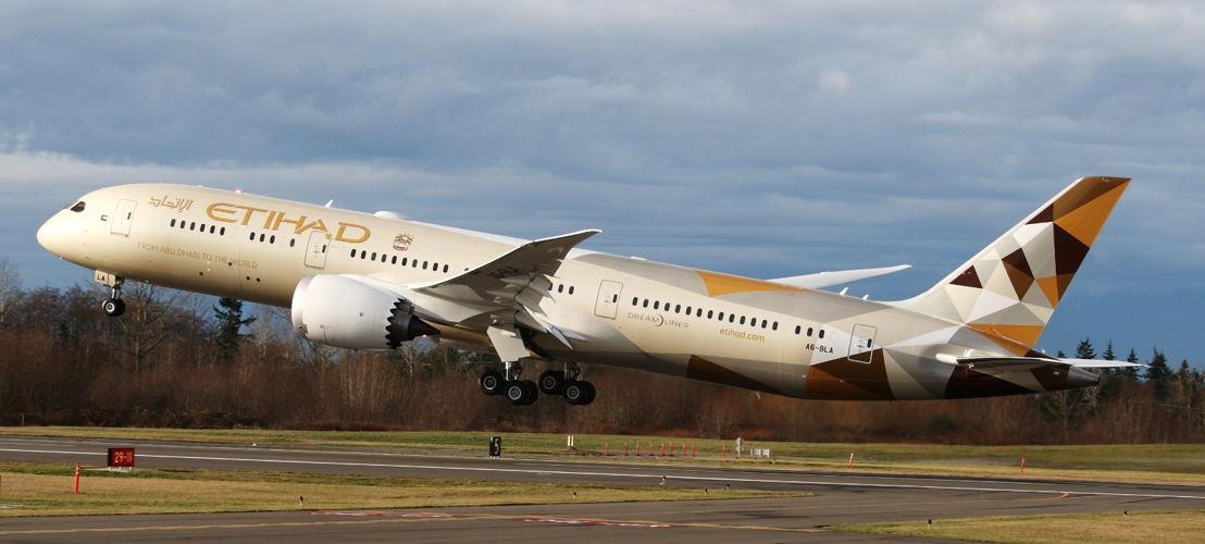 Le Boeing 787 d'Etihad Airways