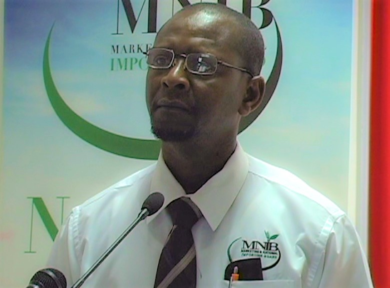 Mr. Samuel Andrew, MNIB Chairman, delivers opening remarks.