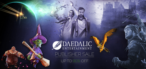 Daedalic Publisher weekend on Steam