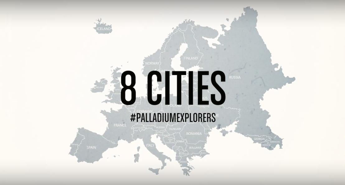 Joy Anna Thielemans neemt Palladium Explorers op sleeptouw doorheen Antwerpen