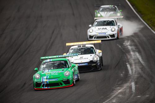 Porsche Sprint Trophy Benelux : doublé pour van Eijndhoven, première pour Troost