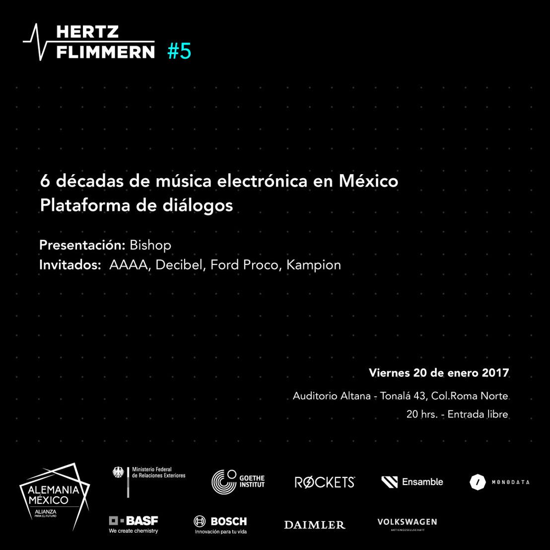 Seis décadas de música electrónica en México