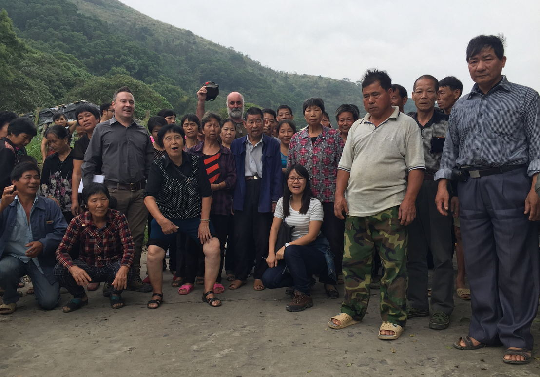 At Quingpuling village
