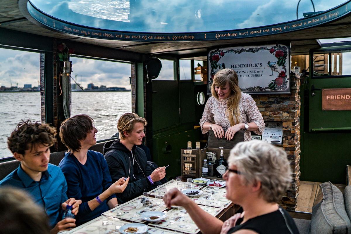 Masterclass tijdens Gin Festival Amsterdam (Foto: Ming Chao)
