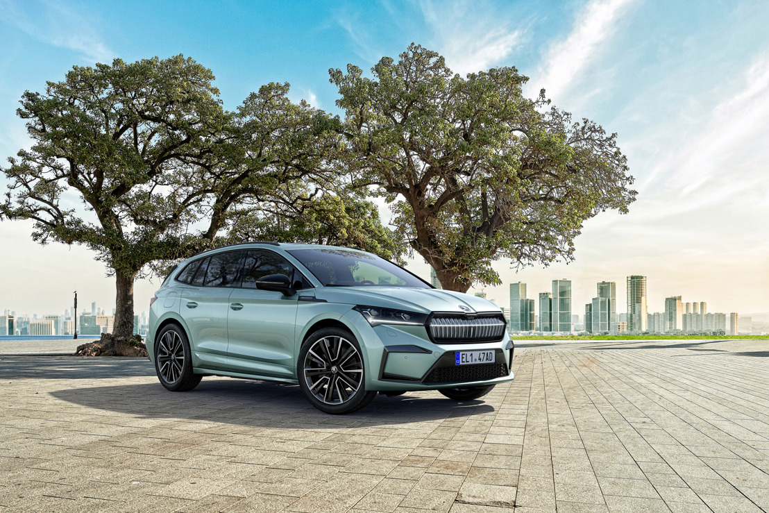 ŠKODA ENYAQ iV offers Design Selections reflecting the style of modern living environments and a new product range structure