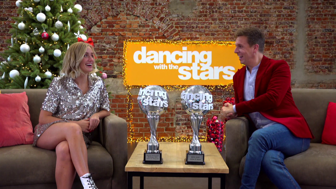 Julie Vermeire en James Cooke delen tips & tricks in Dancing With The Stars: The Winner Takes It All