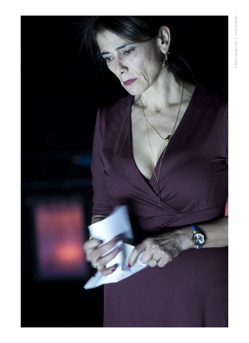 Ruud Gielens, Rachid Benzine & Hiam Abbass - In the Eyes of Heaven - 15/11 © Kurt Van der Elst