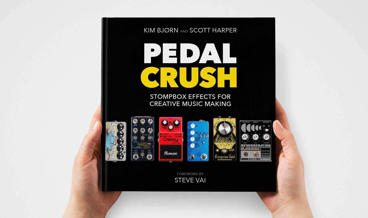 PEDAL CRUSH is a 376-page trip into the expansive, eclectic, and mesmerizing world of effects pedals.