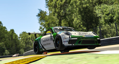 Porsche Mobil 1 Supercup Virtual Edition, races 7 + 8, Monza/Italy