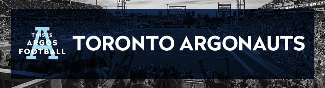 TORONTO ARGONAUTS DEPTH CHART & GAME NOTES - AUGUST 26 at CALGARY