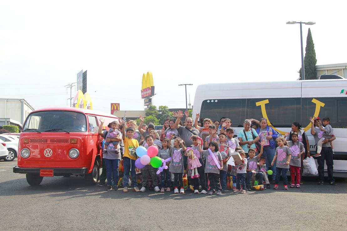 Este mes de abril Volkswagen Vehículos Comerciales y McDonald's llevan cargas de sonrisas a los niños