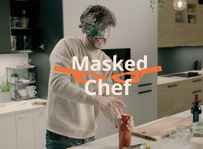 IKEA puts culinary skills and kitchens to the test in 'Masked Chef'