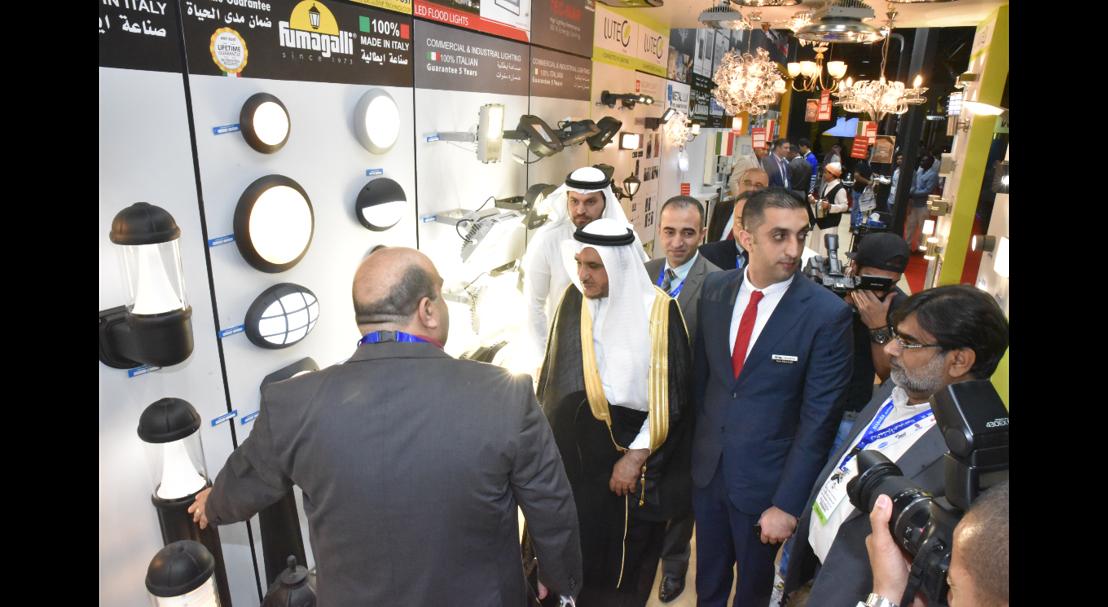 Zeyad Bin Bassam Mohammed Al Bassam, Vice Chairman of Jeddah Chamber of Commerce, visiting The Big 5 Saudi 2017