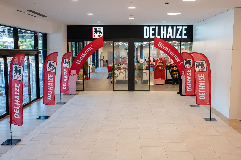 Le supermarché Delhaize Westland entièrement reconstruit selon le nouveau concept