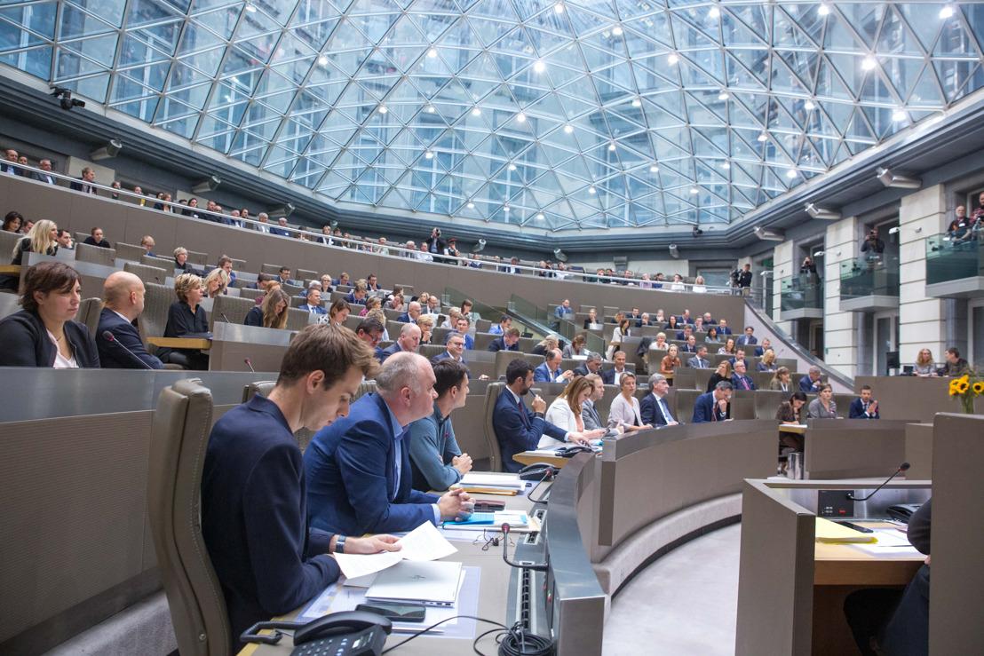Actualiteitsdebat en Actuele Vragen, Vlaams Parlement, woensdag 23 oktober 2019, 14 uur