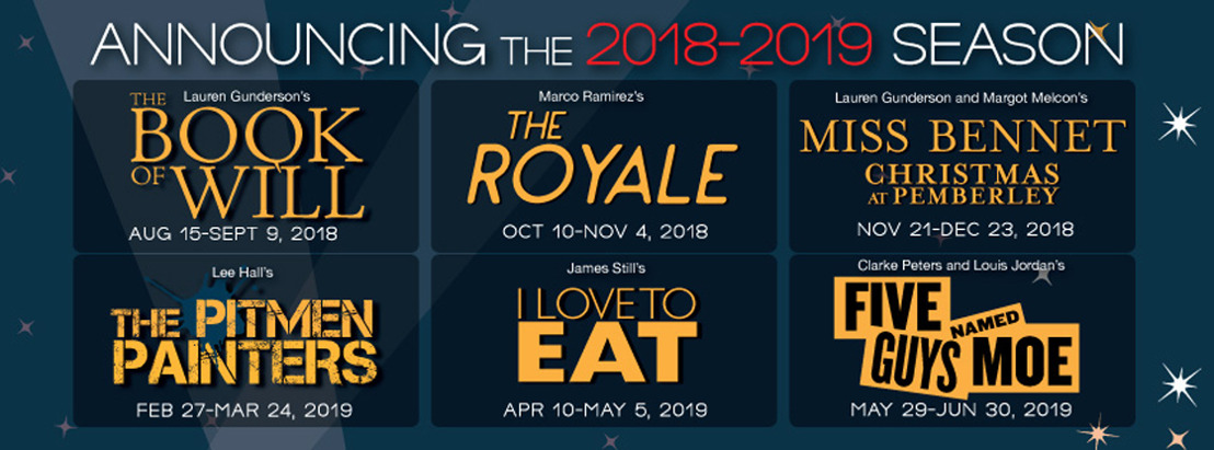 ANNOUNCING THEATRICAL OUTFIT'S 2018-2019 SEASON OF BEAUTY
