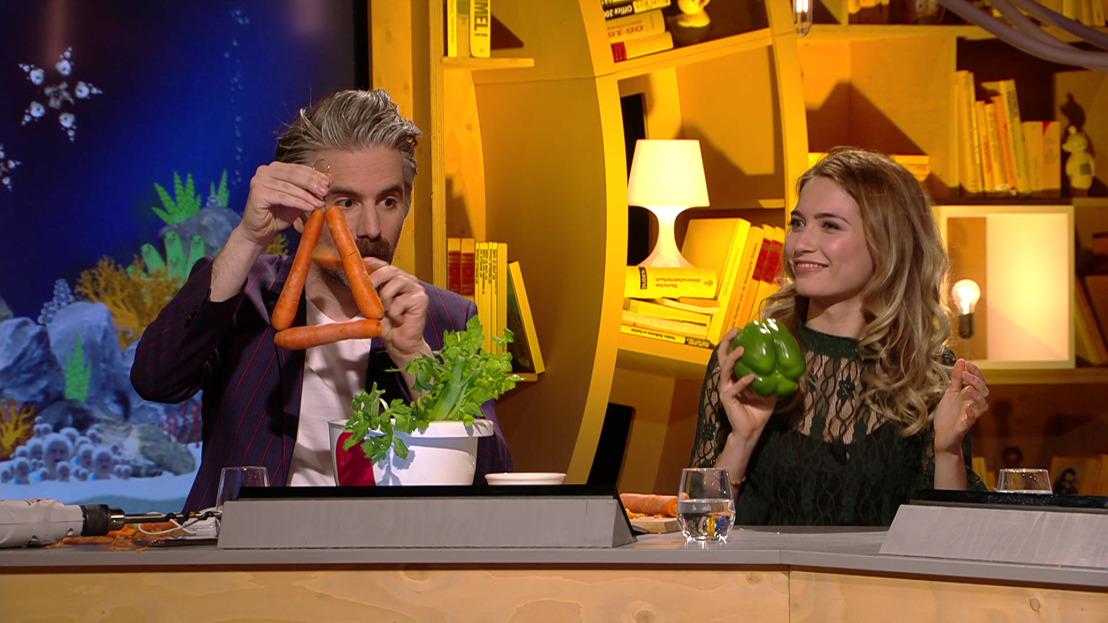 Tinne Oltmans, Bent Van Looy, Rik Verheye & Jeroom Snelders richten eigen groentenorkest op