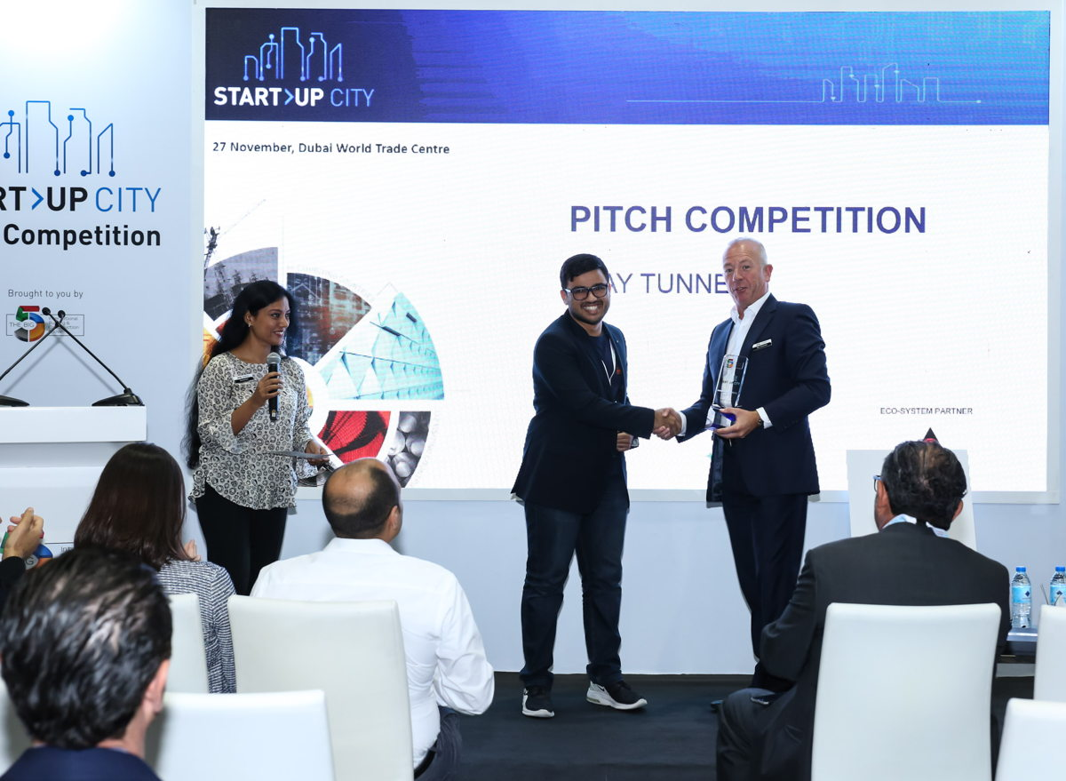 TENDERD at Start-up City Pitch Competition