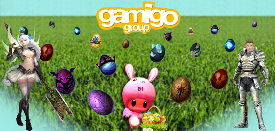 gamigo's great Easter egg hunt!