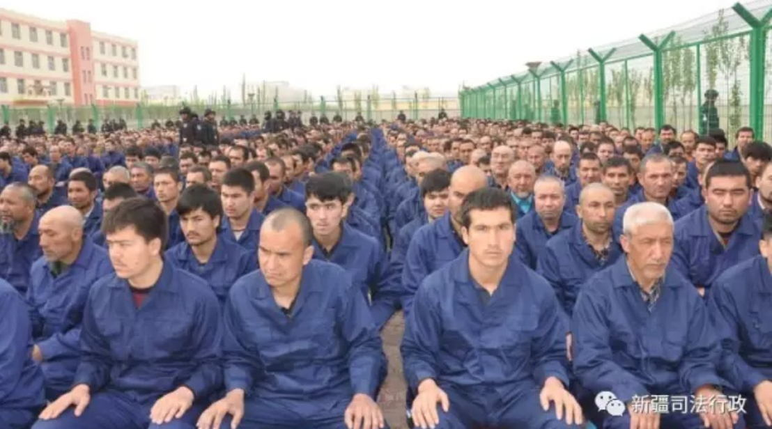 More than 1 million minority Uyghurs are believed to be in detention camps.