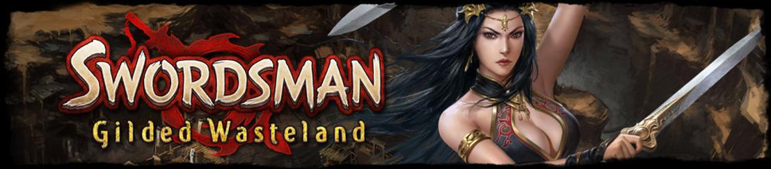 Swordsman : Gilded Wasteland est maintenant disponible !