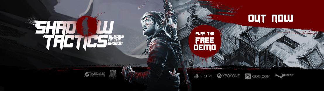 Shadow Tactics - Blades of the Shogun erscheint für Playstation 4 und Xbox One