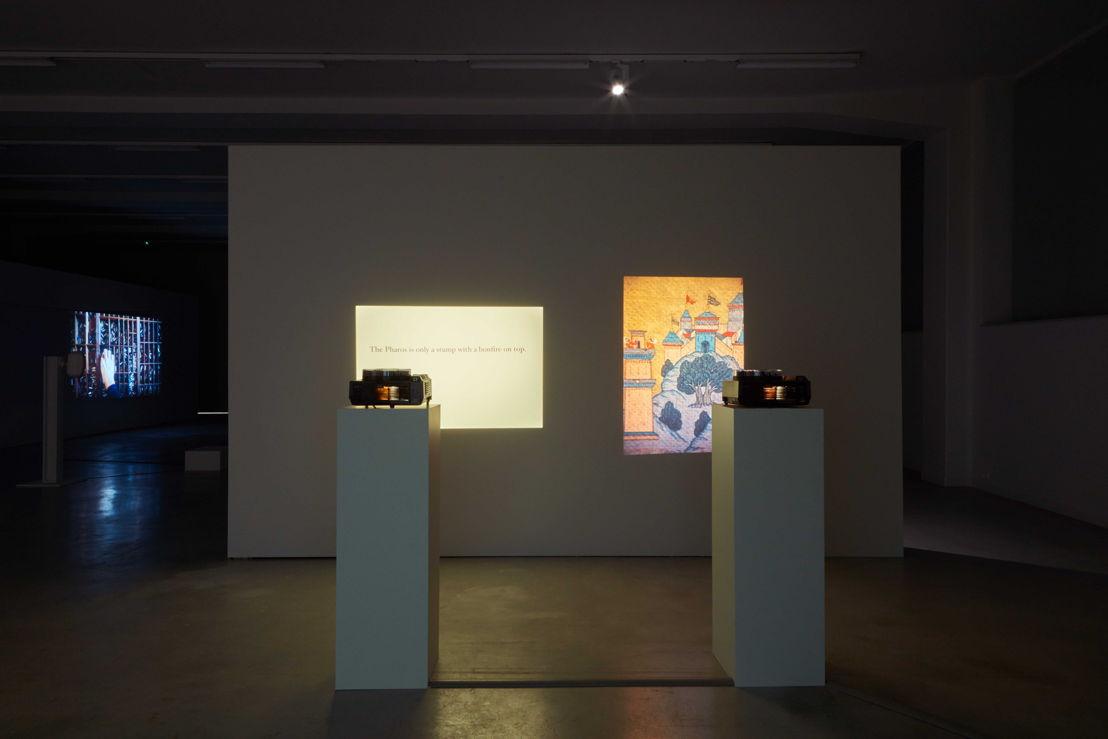 Zicht op de tentoonstelling Ellie Ga. Pharos in M - Museum Leuven<br/>© Dirk Pauwels