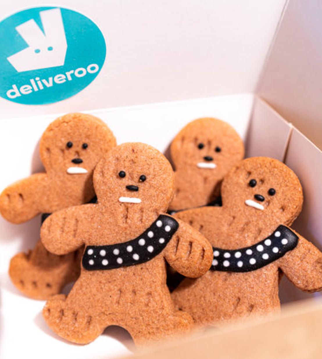Des cookies galactiques livrés chez vous, pour le dernier épisode de la saga, grâce à DELIVEROO !