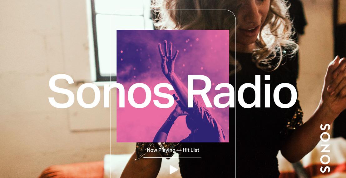 Llega Sonos Radio, el servicio de radio en línea exclusivo para usuarios del sistema Sonos