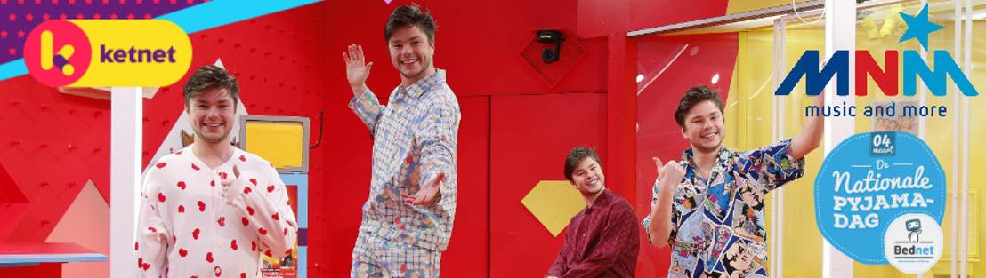 Ketnet en MNM steunen de Nationale Pyjamadag op 4 maart
