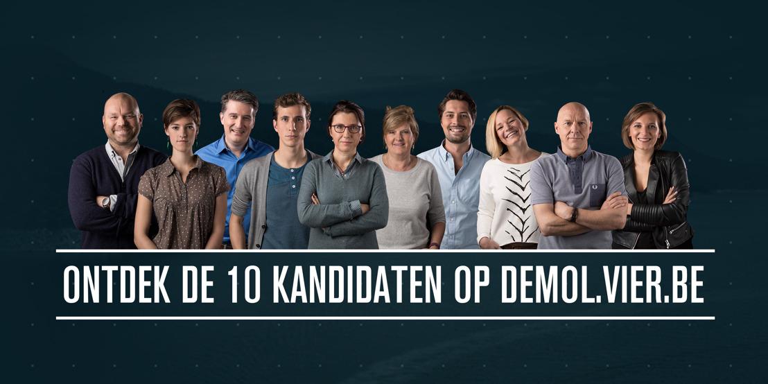 Dit zijn de 10 kandidaten van De Mol