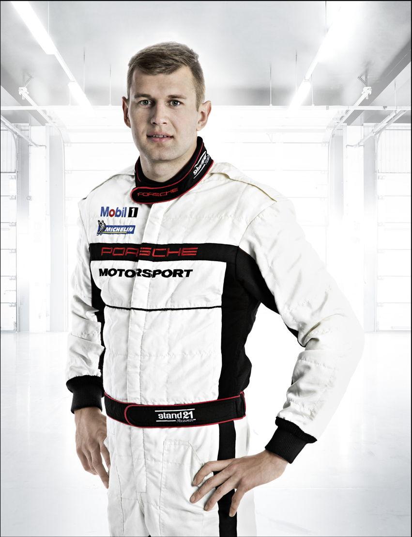 Porsche-Werksfahrer Michael Christensen (DK)