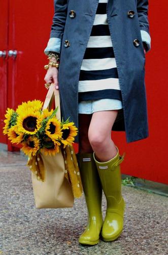 Pinterest Trends: 10 looks para lucir tus rainy boots