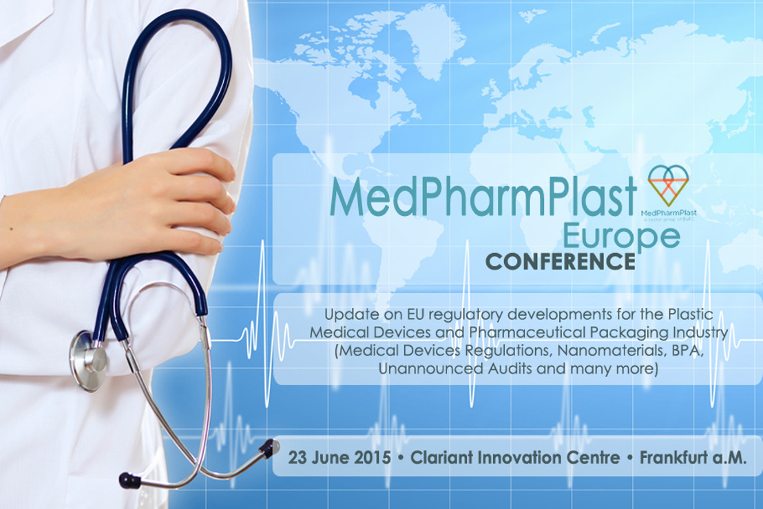 REGISTER NOW - MedPharmPlast Europe Conference in Frankfurt, 23 June 2015