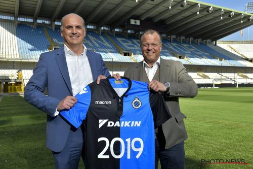 Daikin et le Club de Bruges poursuivent leur collaboration