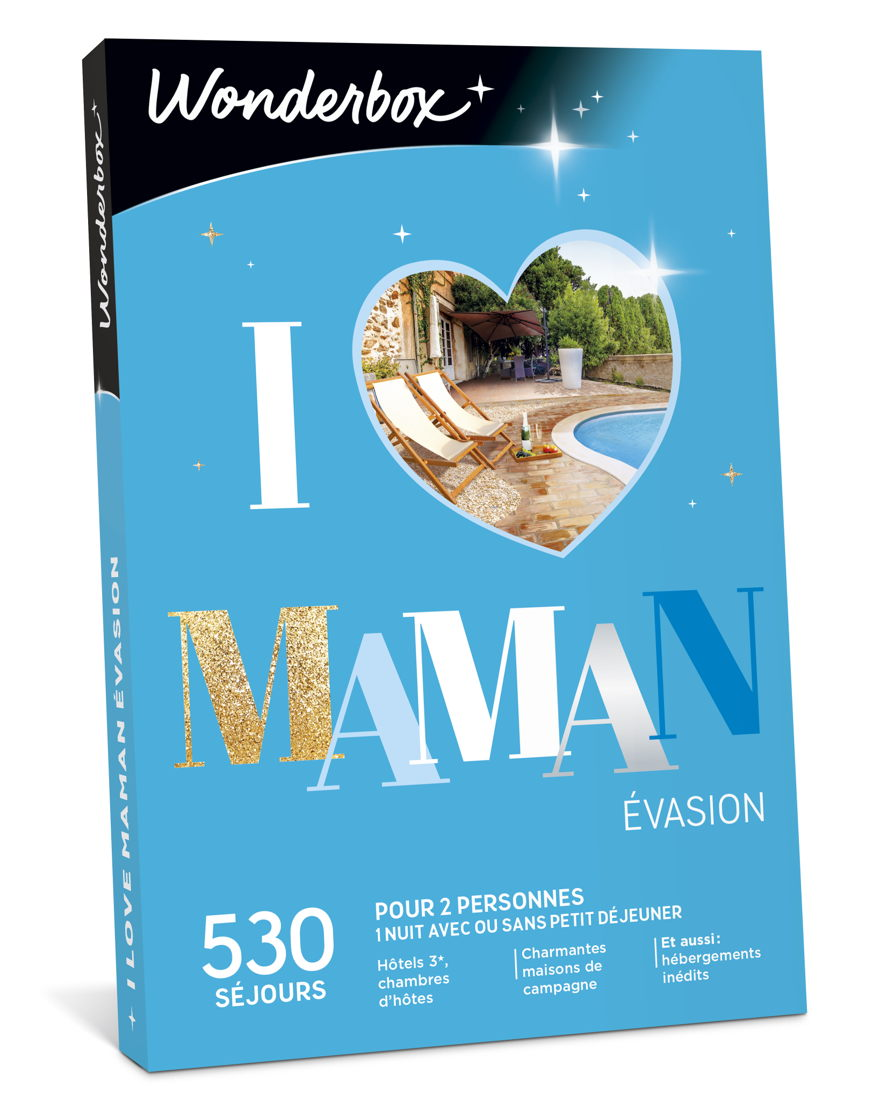 """Wonderbox """"I Love Maman Evasion"""" : 59,90 €."""