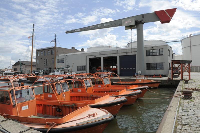 Brabo havenloodsen Antwerpen