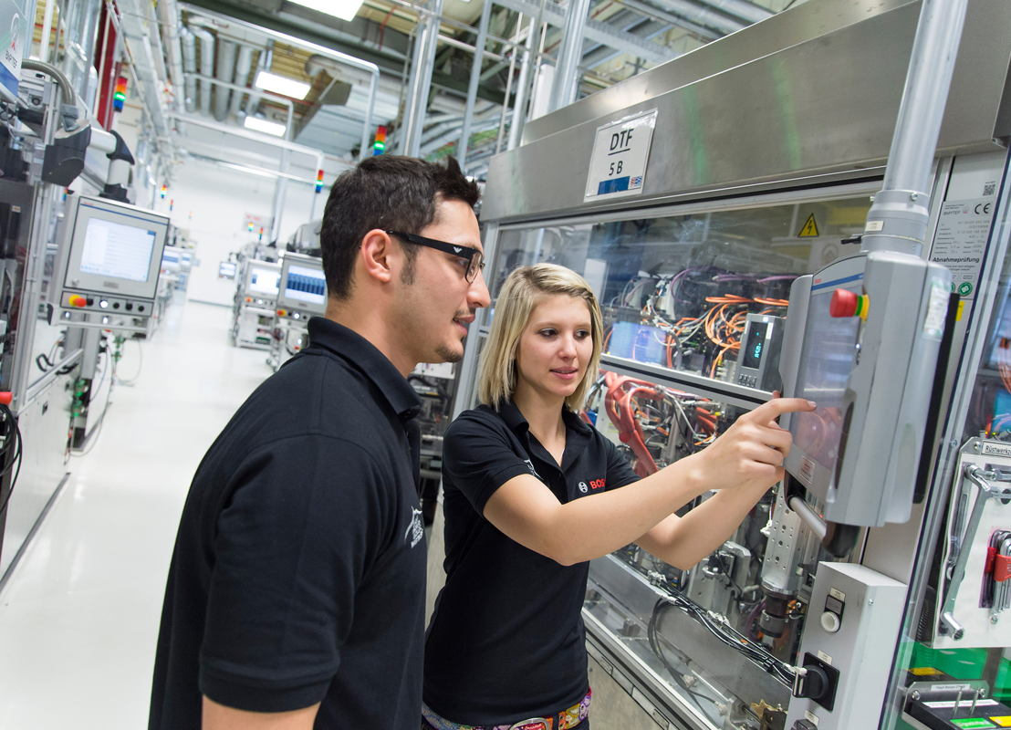 Industry 4.0 - connected manufacturing