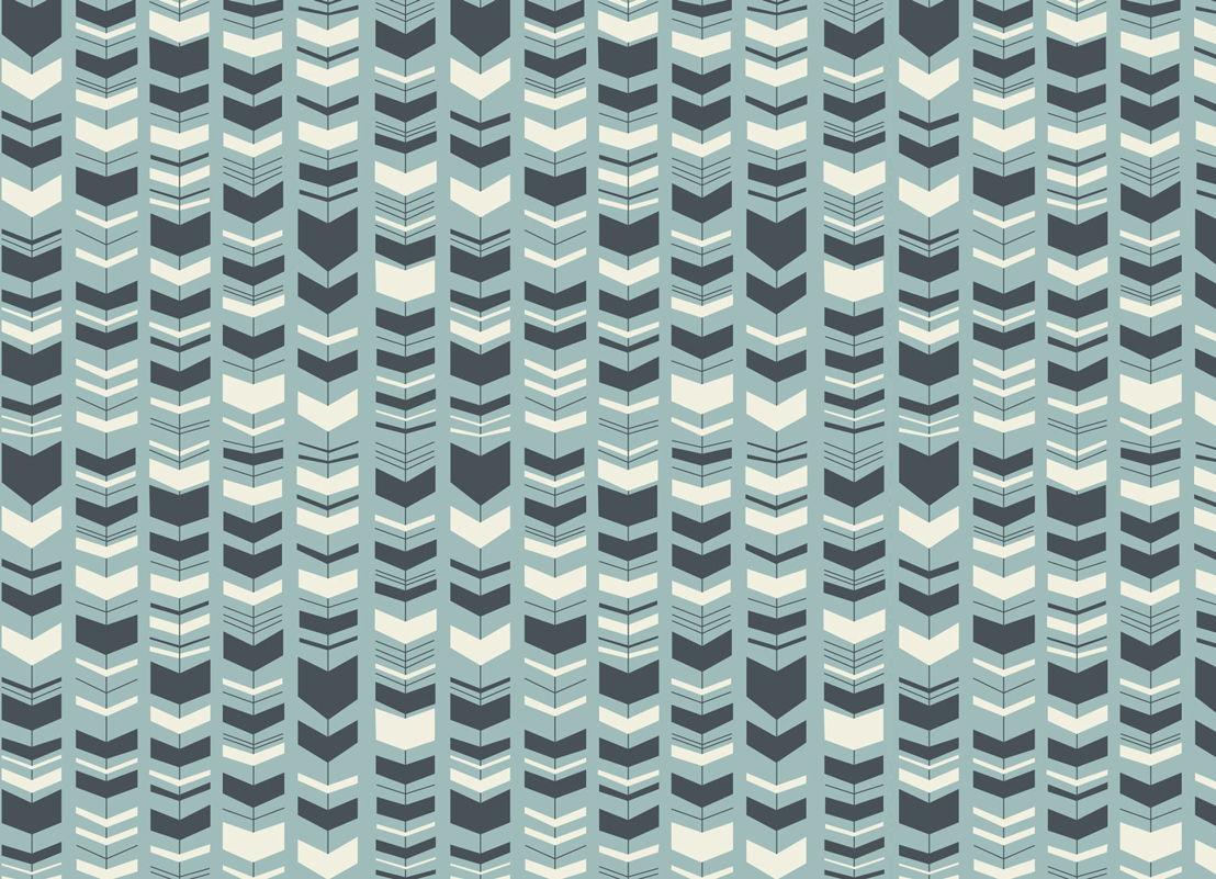 Bass | Retro Arrow Pattern Vinyl Flooring