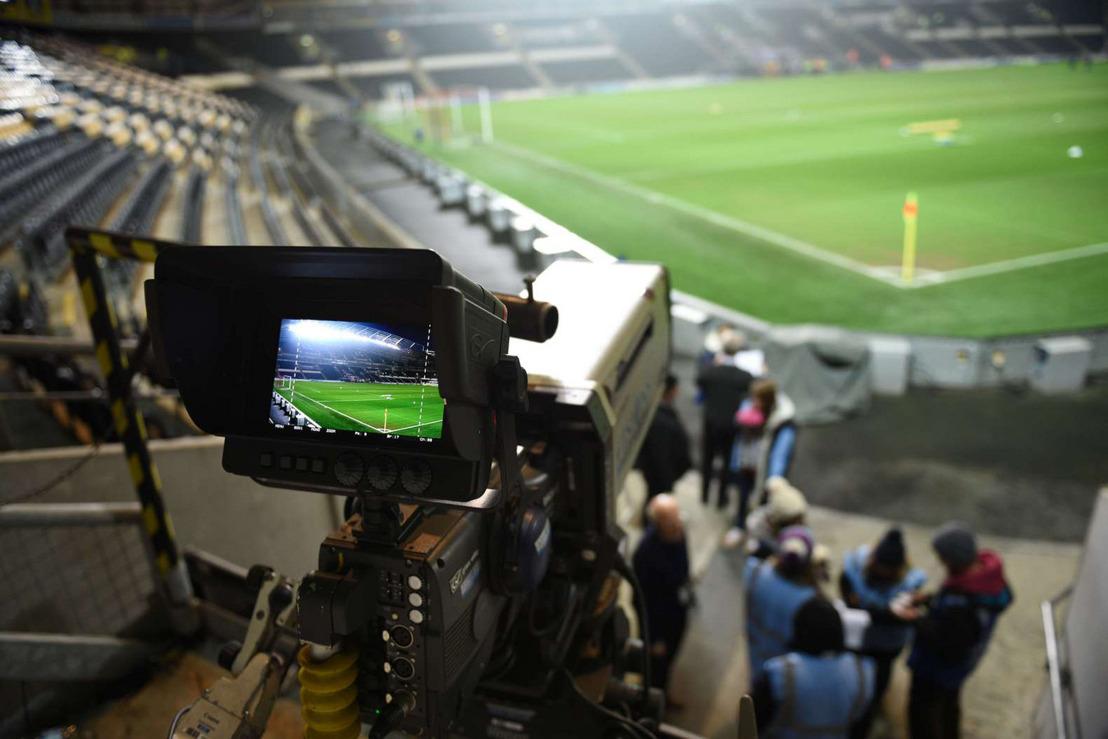Le football belge sera encore diffusé les trois prochaines saisons sur Play Sports